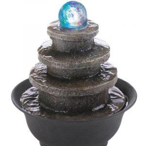 Image of memorial fountain.