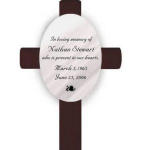 Image of a memorial cross.