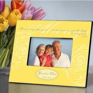 Image of memorial frame.