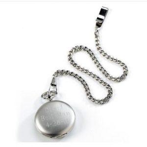 Image of memorial pocket watch.