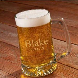 Image of memorial beer mug.