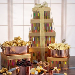 Image of sympathy gift tower.