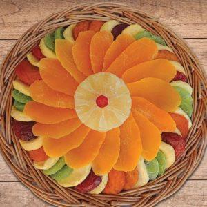 Image of dried fruit platter.