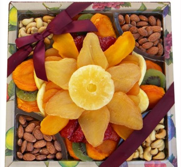 Image of dried fruit and not gift.