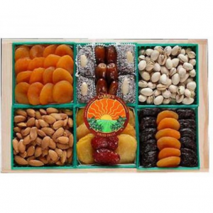 Image of dried fruit gift.