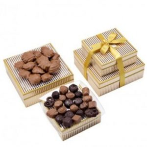 Image of chocolate gift tower.