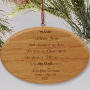 Image of memorial gift.