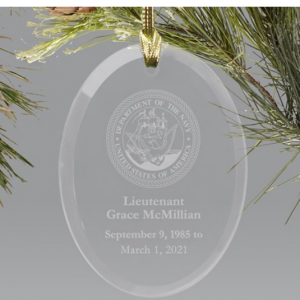 Image of U.S. Navy Ornament.