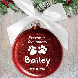 Imageof pet ornament.